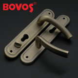 鉄の版の亜鉛ノブが付いているアルミニウムハンドルのドアロック(F8503-L96)ロシアの熱い販売法モデル