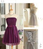 Mini robes neuves de demoiselle d'honneur de type