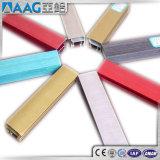 Алюминиевый/алюминиевый профиль рамки штрангя-прессовани для фотоего/Whiteboard/панели солнечных батарей