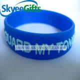 Цветастый Wristband силикона выбитый с логосом