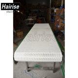 Hairise Plastic Modulare Belt Conveyor pour boissons industrielles avec ISO