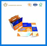 Rectángulo de empaquetado impreso aduana profesional de la cartulina acanalada (rectángulo de envío de la cartulina)