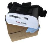영상을%s 3D Vr 상자 가상 현실 헤드폰 유리