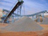 Planta machacante de piedra del granito inmóvil para la producción agregada (150tph)