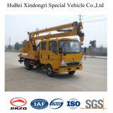 Tracteur de plate-forme aérienne haute altitude Sinotruck 16m