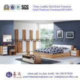 Foshan-Fabrik-hölzernes Bett-moderne Schlafzimmer-Set-Möbel (F18#)