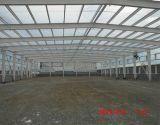 Hecho en el almacenaje prefabricado China de la estructura de acero vertido/almacén