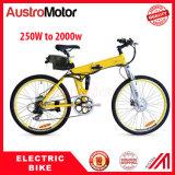 Batería ocultada 48V11ah eléctrica de la bici de montaña 500W Ebike