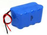 paquete de la batería de litio de 18.5V 2200mAh para la luz solar de la potencia de la calle