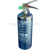 2KG ABC مسحوق / 2L Watrer / 2L رغاوي مكافحة الحرائق طفاية حريق، الفولاذ المقاوم للصدأ اسطوانة