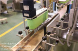 Пластмасса консервирует машину для прикрепления этикеток собственной личности слипчивую для верхней части & сторон