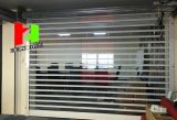 Puerta de cristal de la seguridad de Shopfront del centro comercial del obturador cristalino de alta velocidad transparente seccional automático del almacén (Hz-FC047)