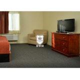 Rote Kirschhölzerne moderne Doppelbett-Hotelzimmer-Möbel
