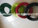 Bride de fixation enduite de fil de blanchisserie de fil de fer d'animal familier