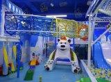 Спортивная площадка детей крытая с большими скольжениями для сбывания