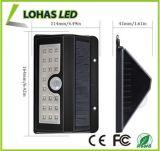 LED 태양 빛이 옥외 방수 운동 측정기 태양 밝은 안전에 의하여 점화한다