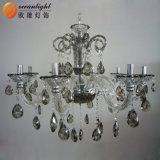 Heiße verkaufengroße Luxuxkristallleuchter-Lampe Om90017 der legierungs-Kerze-E12/E14