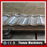 Tuile de toit enduite en métal de pierre en acier faisant la machine
