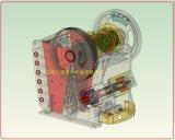 Дробилка челюсти поставщиков PE500*750 Китая каменная
