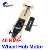 Dual Hub Motor 4 Wheels Skate elétrico com controle remoto