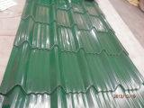 El panel de la azotea del modelo PPGI/prepintó la hoja grabada del material para techos del metal
