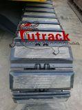 Alta qualidade 500 almofadas de borracha das almofadas da máquina escavadora