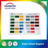 Cmyk Full Color Custom Folded Glossy Paint Card