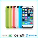 iPhone 6/6sのための多彩な力バンクのバッテリー・バックアップのケースの充電器カバー