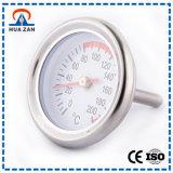 Temperatur-Anzeigeinstrument-Preis der Hochtemperatur-52mm mit Entsprechung