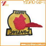 Emblema feito sob encomenda do bordado do logotipo e etiqueta tecida Patchs, correção de programa do bordado (YB-HR-400)