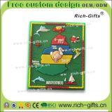 Kundenspezifische fördernde Geschenk-weiche Gummikühlraum-Magnet-Andenken Seychellen (RC- Sc)