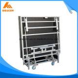 Fácil quitar la etapa plegable de aluminio de la talla 2440X1220m m