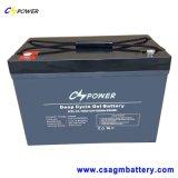 batteria solare del gel 12V100ah, tempi di 50% Dod 1500cycle