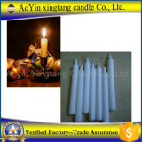 Candela bianca poco costosa di alta qualità/candela domestica al marocchino