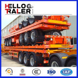 Tri-Axle Pesante-dovere Flatbed Trailer di 40FT con Container Twist Locks