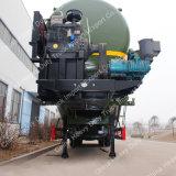 Fabricación de China 3axle 70cbm cemento a granel / polvo Tanque Semirremolque