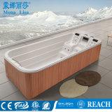 5.7 BALNEARIO de acrílico al aire libre de la nadada del contador con dos salones del resto (M-3350)