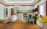 La base de princesa Style Bedroom Furniture Kids de Poplular fijó para el precio barato (et-001)