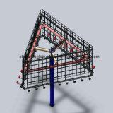 Структура напольного хайвея сильная стальная рекламируя афишу для подгоняно