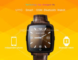 TPS 2016新しいGSM Smartwatchのタッチ画面の腕時計の電話U11c
