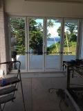 Porte de pliage en aluminium de qualité comme porte d'entrée avec le double vitrage