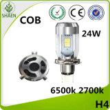 24W H4 LED 기관자전차 헤드라이트