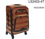 Caixa macia da bagagem da tela com 4 rodas