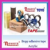 Cinta adhesiva de gran viscosidad de encargo del fabricante BOPP de China para el embalaje de lacre