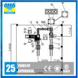 Konkrete blockierenziegelstein-Maschine /Block, das Maschine herstellt