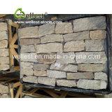 Veneer каменной стены шифера проекта Masonry вены Natual серый