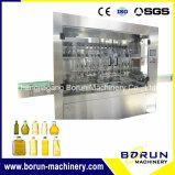 16 Kopf-automatischer Öl-Einfüllstutzen und Mützenmacher-Maschine für Flaschen