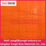 Bâche de protection portative Rolls d'industrie de tissu de PE de grossiste orange