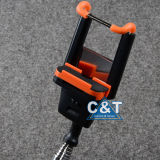 iPhone를 위한 Adjustable Phone Holder를 가진 Selfie Handheld Stick Monopod
