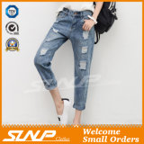Manier Strench Stratch van de straat &Ripped Vrouwen Negende Jean Pants Clothes